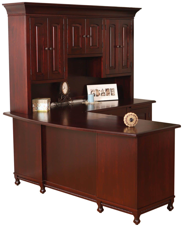 Birmingham L-Shaped Desk client ciew