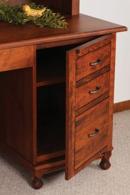 False drawer front cabinet
