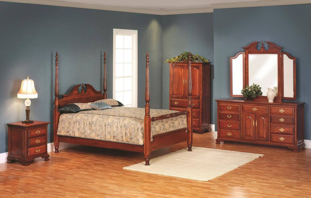 Elizabeth's Tradition Cherry Bedroom Furniture Set