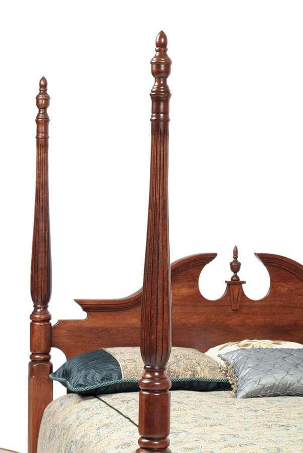 Elizabeth's Tradition Four Poster Bed - Detail