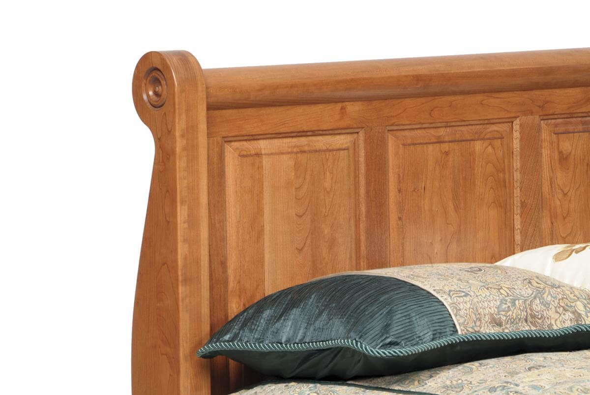 Elizabeth's Tradition Sleigh Bed headboard