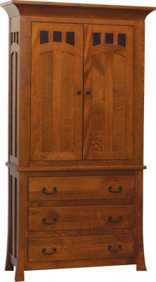 Mission Canyon Armoire