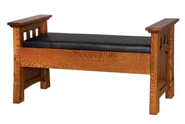 Mission Canyon Bedroom Bench