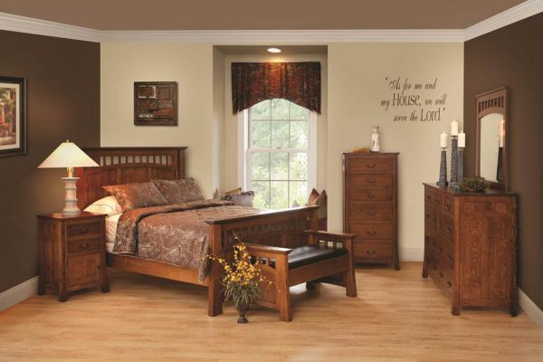 Mission Canyon Bedroom Furniture Set