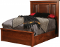 Wyndham Leather Upholstered Bed