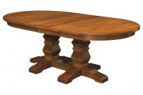 Duvall Double Pedestal Table