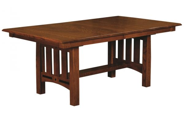 Mason City Butterfly Leaf Dining Table Countryside Amish Furniture