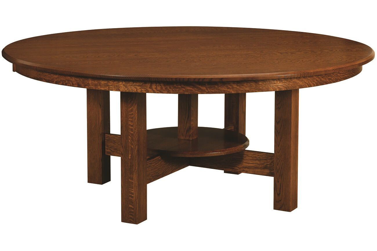 Santiago Round Trestle Table