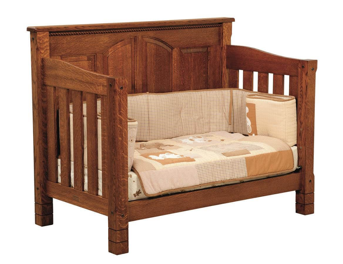 Great Bear Toddler Bed converted from baby crib