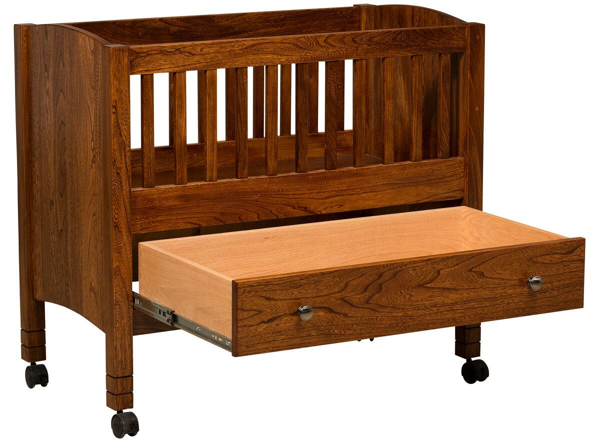 Windsor Portable Crib with Storage