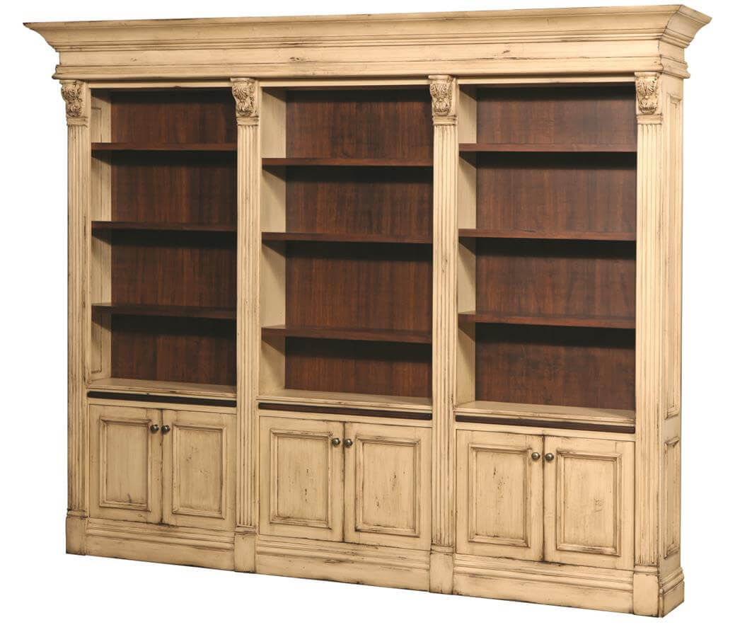 Amish Made Wall Bookcase