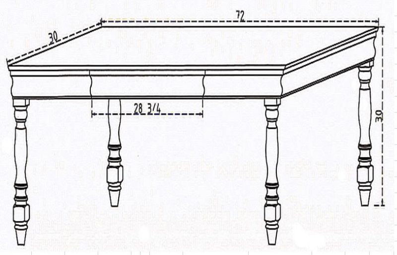 Edgar Lee Conference Table