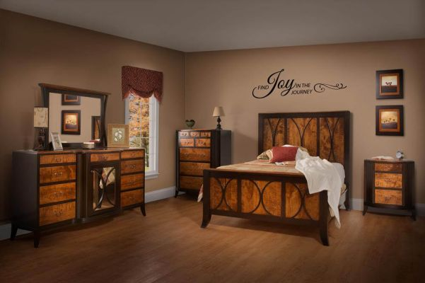 tiger maple the domestic exotic wood countryside amish furniture. Black Bedroom Furniture Sets. Home Design Ideas