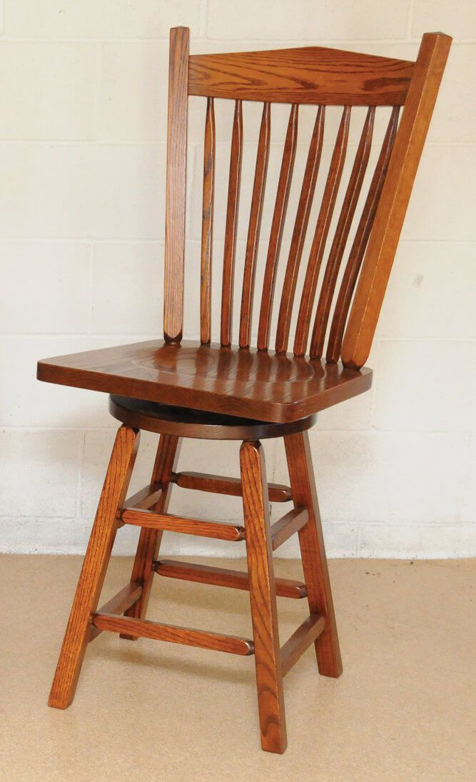 San Gabriel Bistro Chair in Oak