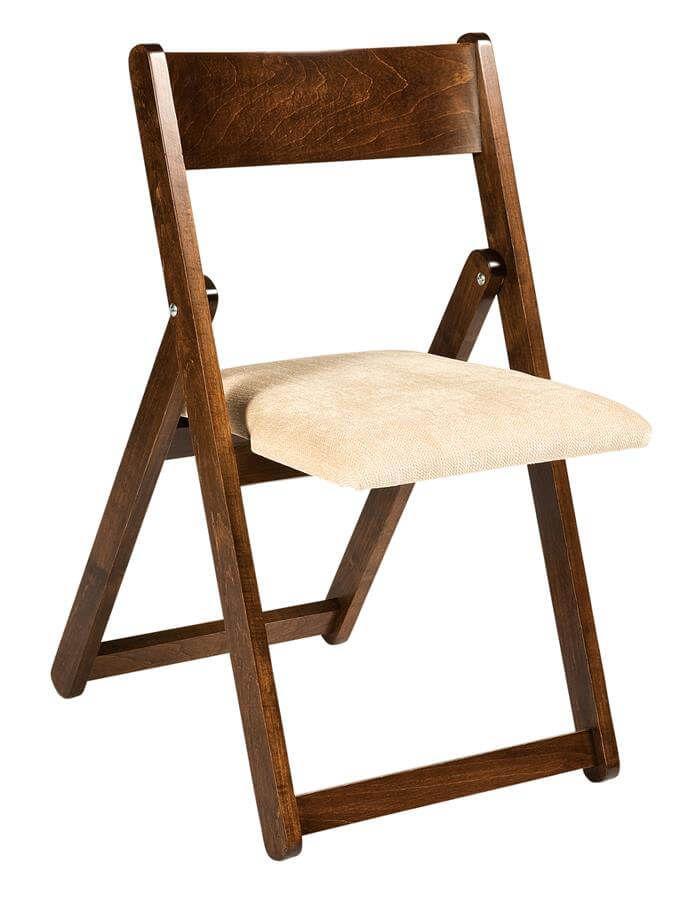 kovak folding mission kitchen chair countryside amish