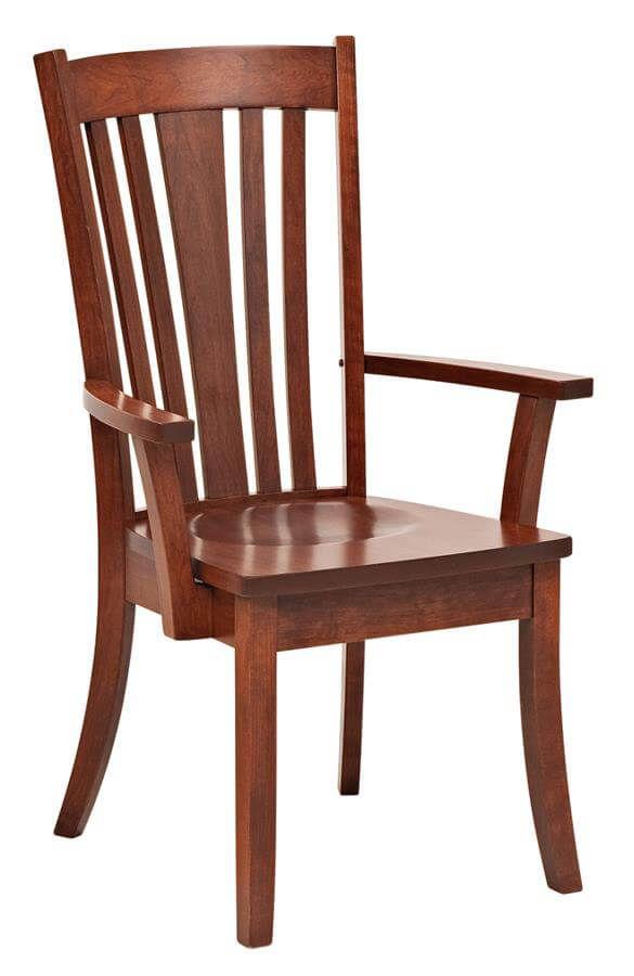 Medina Solid Wood Arm Chair