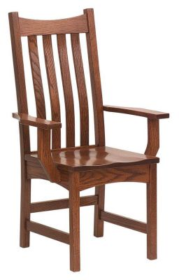 Omaha Mission Arm Chair