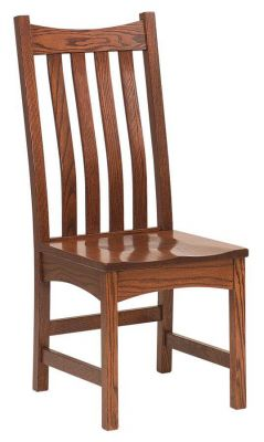 Omaha Mission Solid Wood Side Chair
