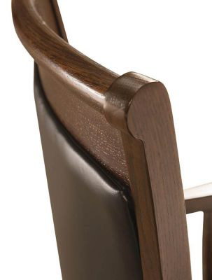 Tango Desk Chair with black leather