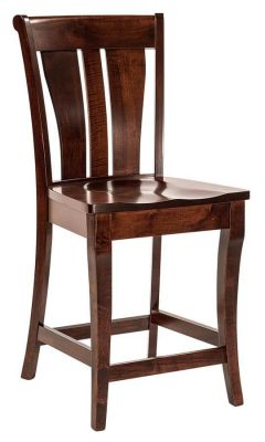 Zippelli Solid Wood Bar Chair