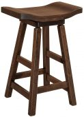 Lennox Swivel Saddle Stool