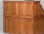 Amish Roll Top Desk Panels