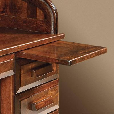 Educators Handmade Roll Top Desk Countryside Amish Furniture