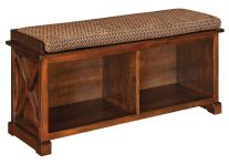 Hudson Casual Storage Bench
