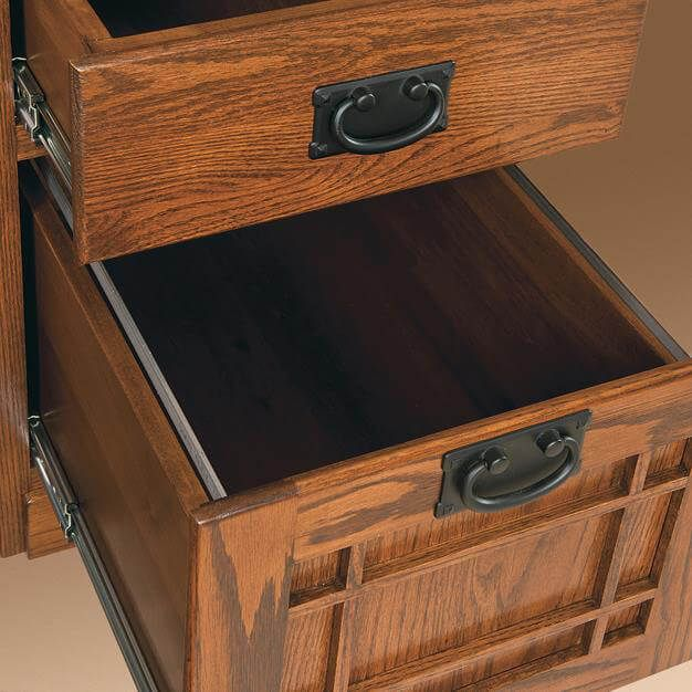 File drawer detail