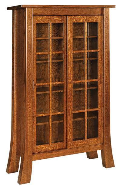 Pontiac Bookcase in Quartersawn White Oak
