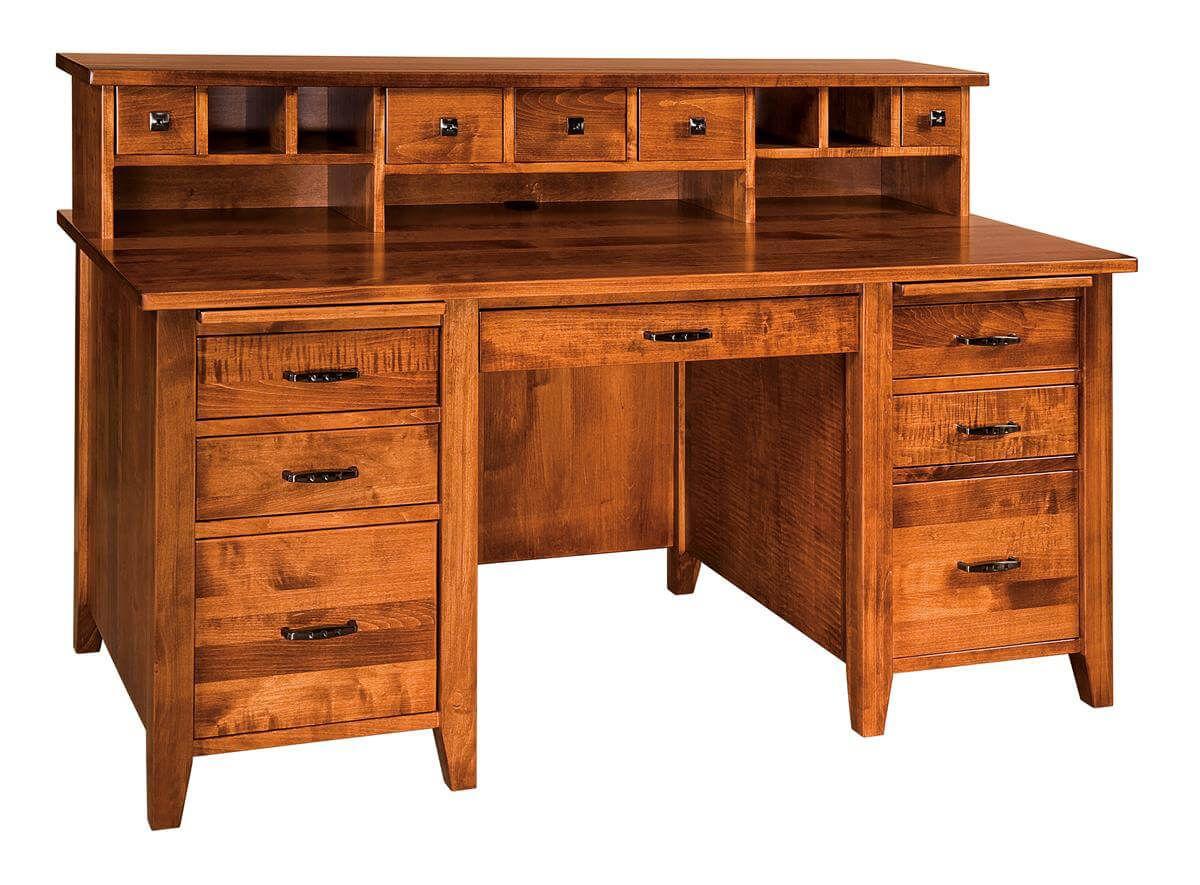 Silver Spring Hutch Desk