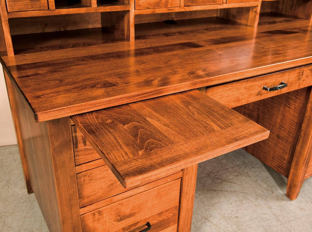 Pullout work surfaces