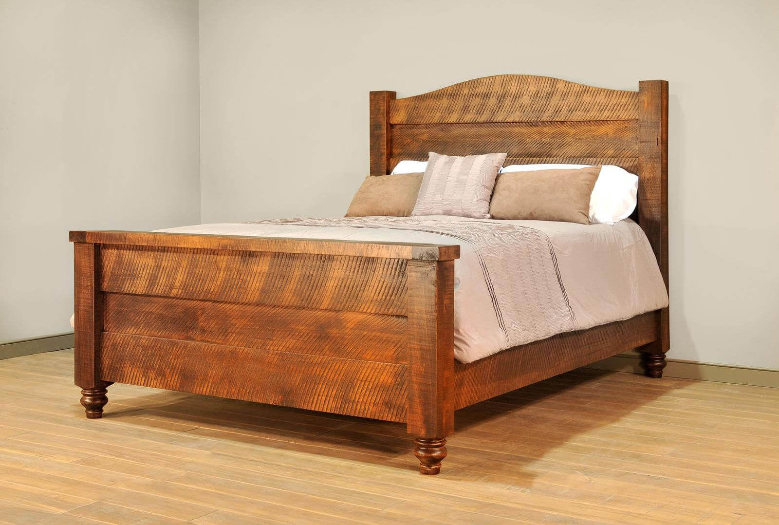 Rustic Amish Made Bed