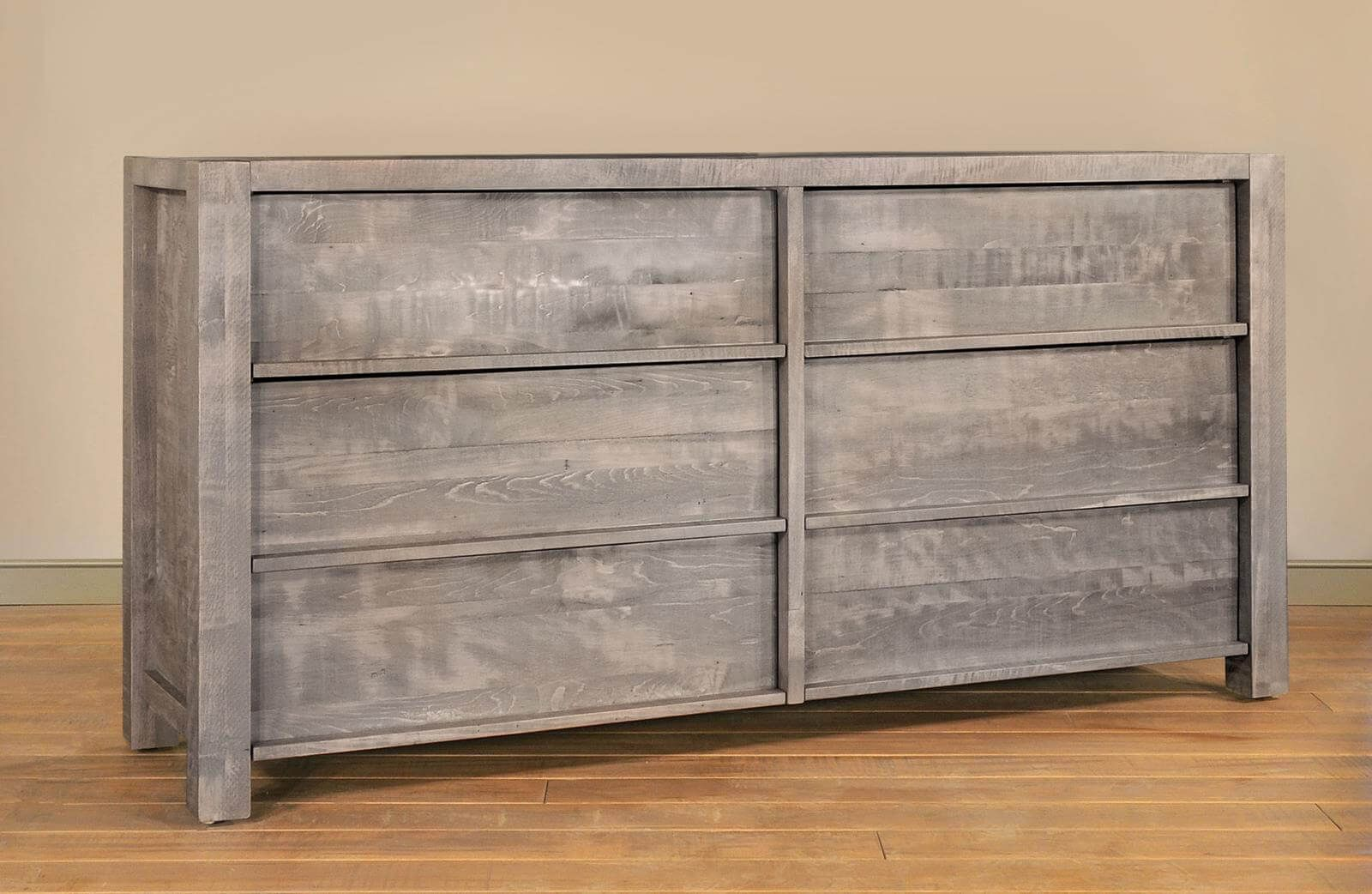 Rough Sawn Gray Dresser