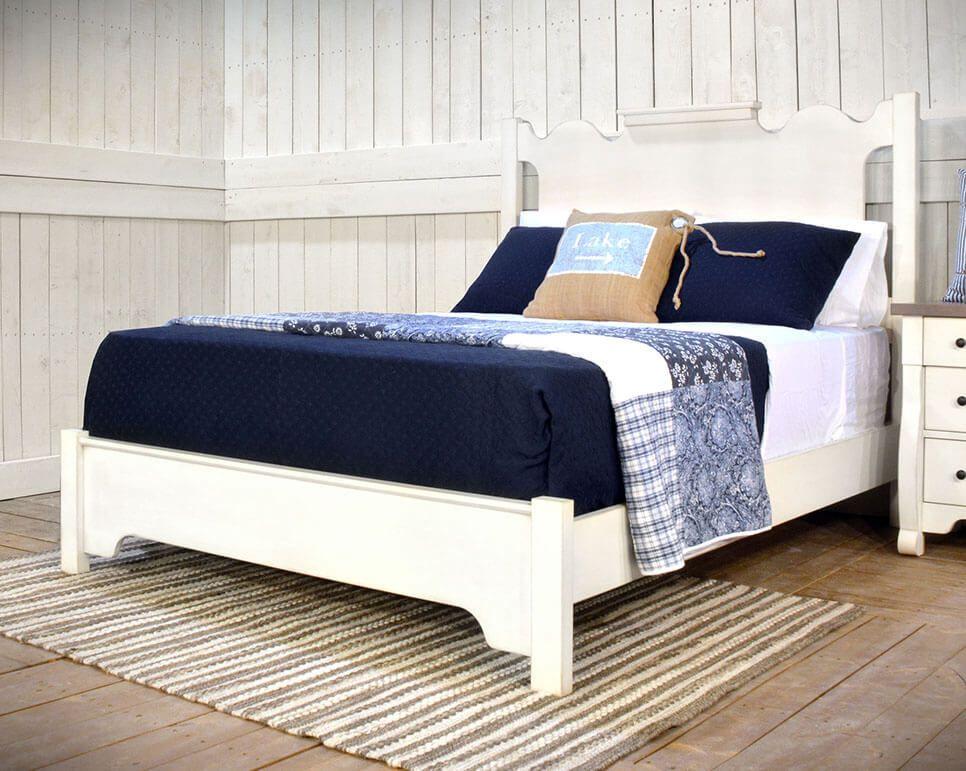 Belledonne Shabby Chic Bed