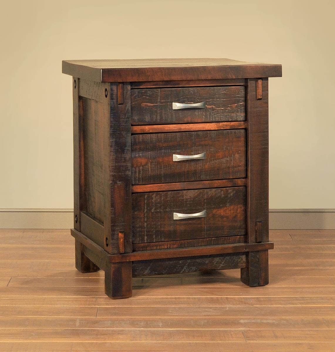 Rough Sawn Bedside Table