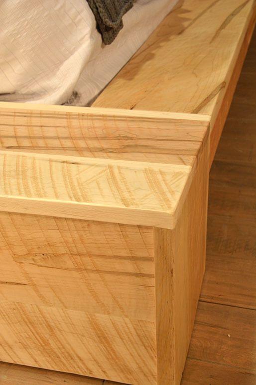 Platform Bed Detail