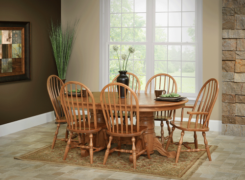 Oak Furniture - Dining Tables - Countryside Amish Furniture