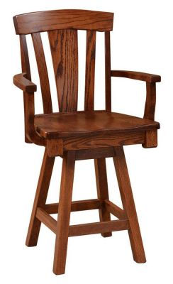 Annapolis Swivel Counter Height Chair Countryside Amish