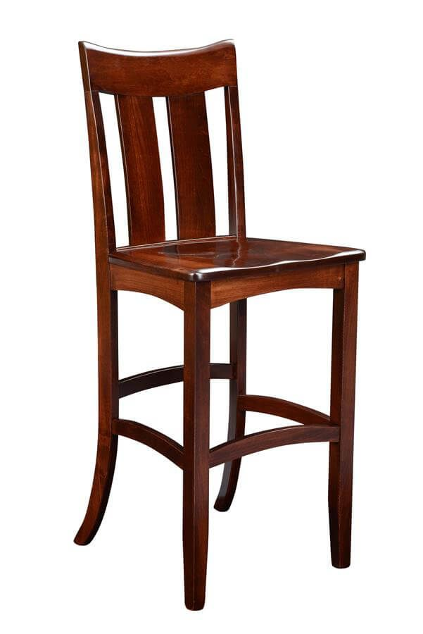 Brinton Pub Chair in Solid Wood