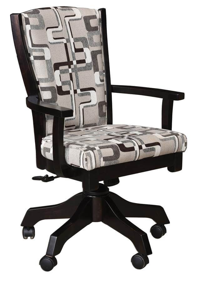 Catherine upholstered desk chair