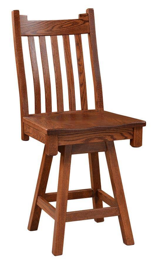 Lobo Bar Height Swivel Chair