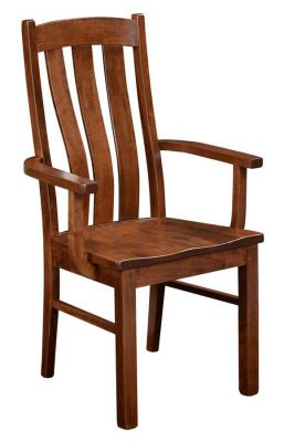 Newark Solid Wood Arm Chair