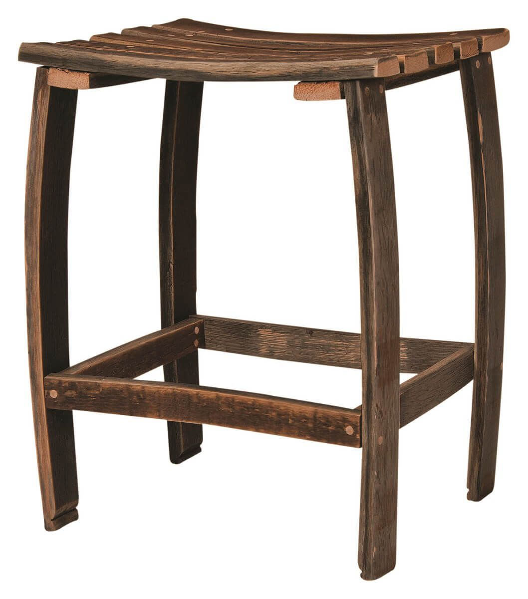 San Pedro Reclaimed Barrel Counter Stool