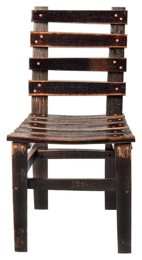 San Pedro Reclaimed Barrel Side Chair