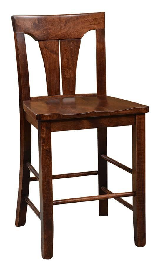 Whitehall Pub Chair in Brown Maple