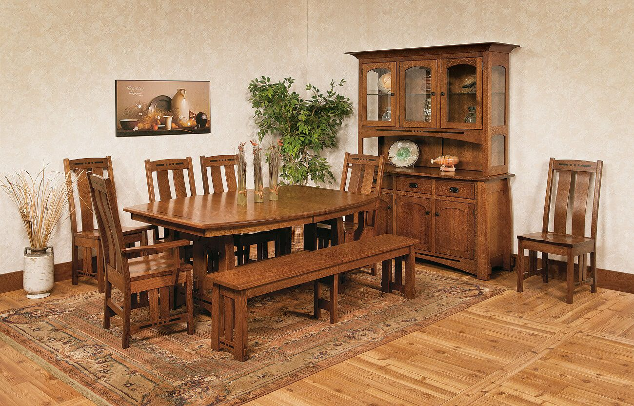 Sitka Craftsman Dining Room Furniture Set