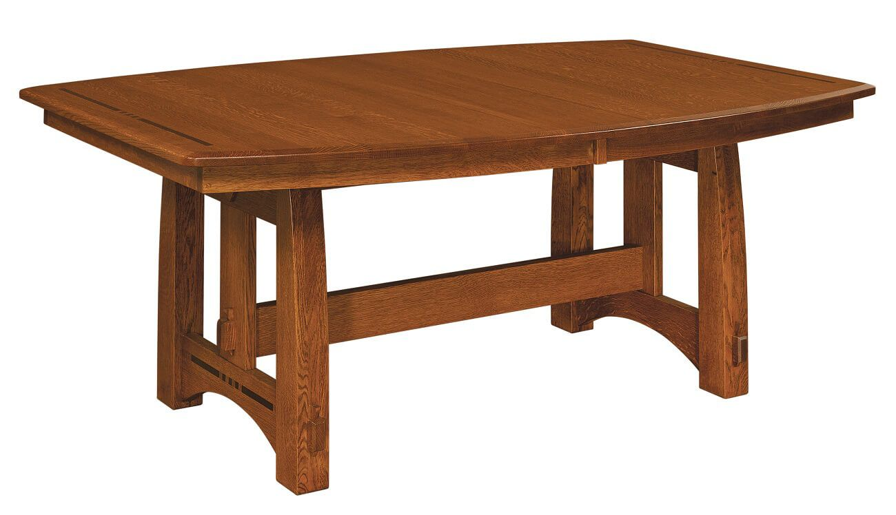 Sitka Craftsman Trestle Dining Table