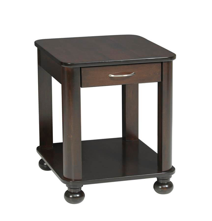 Amber End Table