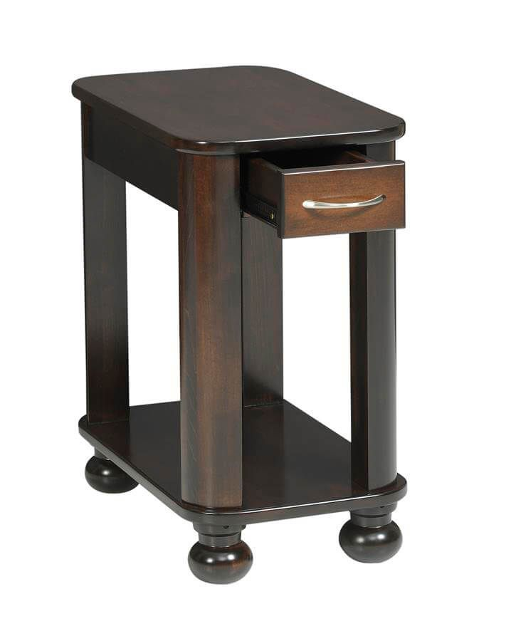 Amber Side Table opened